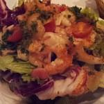 マション - 赤海老のソテー サラダ仕立て