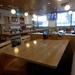 まいどおおきに食堂 厚別東食堂 - 店内は綺麗
