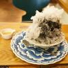 トゥルナージュ - 料理写真:天然酵母のかき氷「竹炭」(500円)