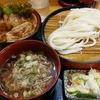 親孝行うどんゆげ釜 - 料理写真:今週のランチ 豚カルビ丼定食+濃厚豚汁つけ麺