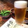 瓶家 - 料理写真:生ビール^_^