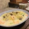 cafe 町子 - 料理写真:エビとキノコ、アボカドのクリームパスタ