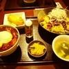 都来 - 料理写真:冷やし汁なし担担麺&ミニ麻婆丼セット 980円