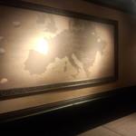 OLIVE - 大きなヨーロッパ地図★チーズの産地等が書かれてました!