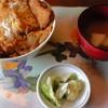 しらかば荘 - 料理写真:H26.8.24 かつ丼(500円)