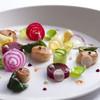 トランテアン - 料理写真:帆立と地元野菜の一皿