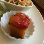 Cafe 5884 - 2014.08 南瓜とトマトの甘蒸し煮