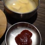 プングム - プルコギ用甘味噌とスープ