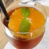 ハルミズ - 料理写真:はちみつオレンジのアイスティー