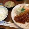 大富士 - 料理写真:とんかつ定食