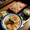 四季の味処 ふみ佶 - 料理写真:とり天丼セット