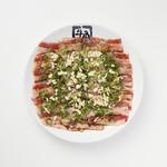 牛角 - 料理写真:超スタミナWガーリックカルビ