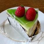 ミヤケ - ピスタチオのケーキ 420円