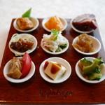 トゥーランドット - 前菜9種