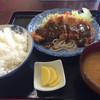 とんかつあべ - 料理写真:トンカツ定食¥700