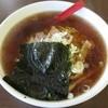 客隆軒 - 料理写真:『Aセット(醤油ラーメン+餃子)』(税込700円)