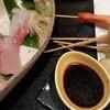 わらしべ - 料理写真:とても繊細で美味な串揚げと刺し身