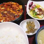謝謝 - 四川麻婆豆腐ランチ