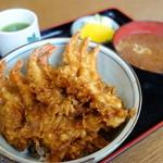 松葉屋 - 天丼¥800-