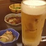 花岬 - 嫁が居酒屋行きたいと言うので、花岬でカンペ( ^ ^ )/□ 飲むのはお父さんだけなんですけどね。
