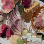 煮炊魚金 - お手頃三点盛【2014年8月】