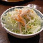 土鍋ハンバーグ 北斗星 - サラダ