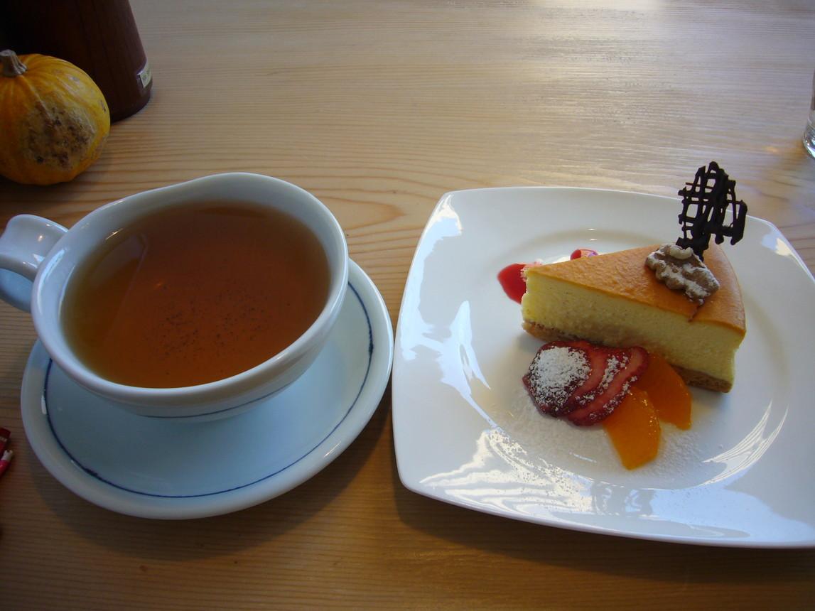 カレーとケーキ かぼちゃ家