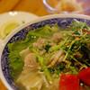 Funny fly - 料理写真:豚肉と青菜のフォー