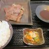 鉄板焼 勝治 - 料理写真:近江牛スライスステーキランチ¥1200@'14.6.中旬