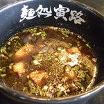 麺処寅路 - つけツユ