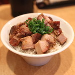 Japanese Soba Noodles 蔦 - 肉飯 (2014/08)