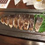 ぼんてん漁港 - 炙りシメサバ