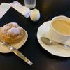 プレール - 料理写真:ブレンドコーヒーとモーニングサービス(シュークリーム)