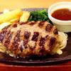 デニーズ - 料理写真:プレミアム100%ビーフハンバーグ