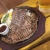 肉食堂 智 - 料理写真:本場バーベキューステーキ