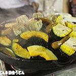アトレ川越ビヤガーデン - カボチャもトウモロコシも焼いちゃいます