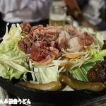 アトレ川越ビヤガーデン - ジンギスカンでウィンナー・焼売・肉団子