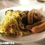 アトレ川越ビヤガーデン - 今度は、ナムルとウィンナー・肉団子