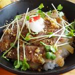 レストラン カントリーパパ - 2014.05_カンパパセット(1674円)鹿追牛のっけ丼