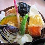 蛸八 - 天ぷら定食
