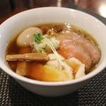 らぁ麺やまぐち - 特製鶏そば (2014/08)