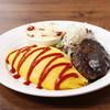 洋食堂 Jeu Jeu - 料理写真:ある日の日替わりオムライスプレート その1