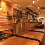 天然食堂 かふぅ - 木の温かみを感じるお店♥︎ほんわかしてますよ〜ヾ(*´▽`*)ノ
