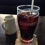 リオ - セットのアイスコーヒー…ギネス!