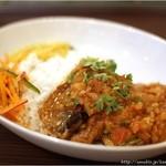 ディラン - 秋刀魚のカレー