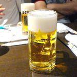 四文屋 - 生ビール ¥500