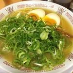 30419071 - 京都の老舗ラーメン屋さん。鶏の濃厚なスープでなかなかの美味です(^o^)/
