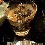 居酒屋一兆 - ウィスキー ロック 210円