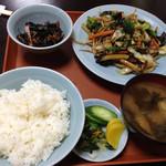 中華料理 とき - 日替りの野菜炒め定食@850円