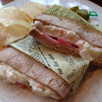 ラウンジ ドルチェ - 料理写真:オリジナルサンドイッチ